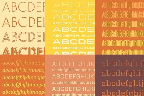 Meet the designer behind some of the Web's newest killer fonts | D_sign | Scoop.it