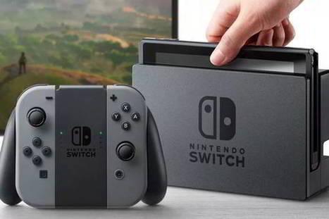 Nintendo Switch: la nouvelle console du géant nippon enfin dévoilée | Nalaweb | Scoop.it