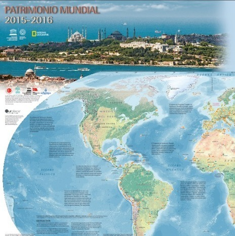 Descarga gratis el mapa del Patrimonio Mundial de la UNESCO | History 2[+or less 3].0 | Scoop.it