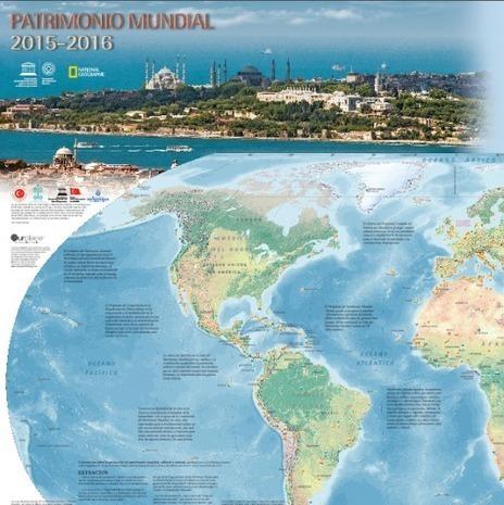 Descarga gratis el mapa del Patrimonio Mundial de la UNESCO | Fundamentos de la gestión cultural | Scoop.it