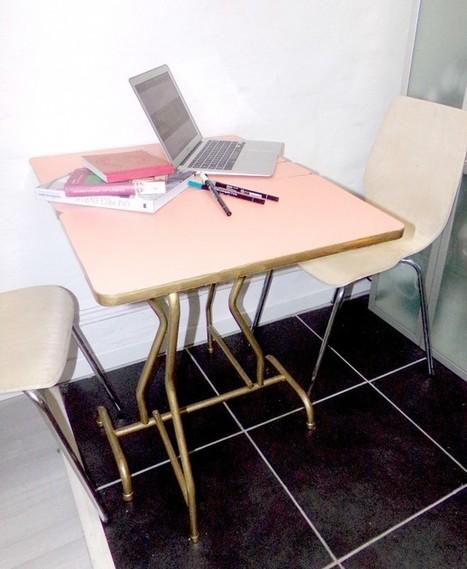 Découverte – Sintopeinture pour relooker une vieille table – Cocon de décoration: le blog | Décoration | Scoop.it