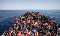 Jason Florio's best photograph – African migrants crammed into a boat off Libya | Saif al Islam | Scoop.it