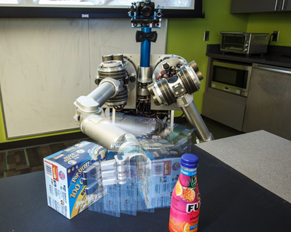 Press Release: More Than a Good Eye: Carnegie Mellon Robot Uses Arms, Location and More To Discover Objects-Carnegie Mellon News - Carnegie Mellon University | Friday Thinking 10 May 2013 | Scoop.it