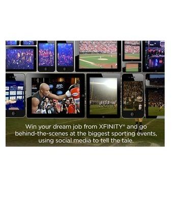 XFINITY: Win the Ultimate Sports Social Media Job - Anonymous ... | Sports 101 | Scoop.it
