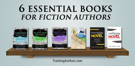 6 Essential Books for Fiction Authors | Digital Publishing With The Every Day Book Marketer | Scoop.it
