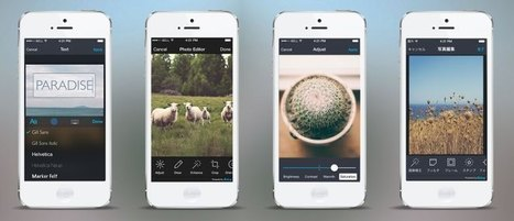 Aviary redesigns its iOS photo editing dev tools after processing 10B photos last year | Photography News Journal | Scoop.it