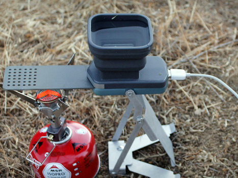 Innovation: A Portable Generator Charges Devices With Fire   Science, Technology, and Current Futurism   Scoop.it