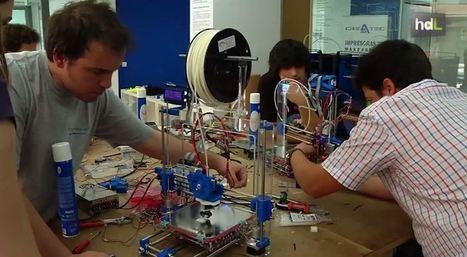 Impresoras 3D para todos: un taller enseña a construirlas y usarlas | Soluciones de tecnología e innovación, accesibilidad, sostenibilidad y competitividad | Scoop.it