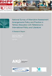 Alternative assessment arrangements policy for students with disabilities in tertiary education - Ako Aotearoa | Rubrics, Assessment and eProctoring in Higher Education | Scoop.it
