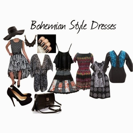 India Designs: Boho Spring Fashion Dresses | Bohemian Skirt | Scoop.it