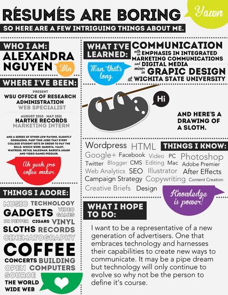 Visual-Resume.jpg (2550x3300 pixels) | education | Scoop.it