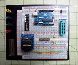 Burn Arduino Bootloader on Atmega-328 TQFP and DIP chips on breadboard | Arduino, Netduino, Rasperry Pi! | Scoop.it