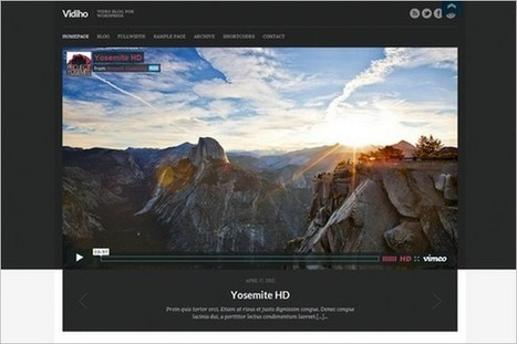 25 Best Video and Multimedia WordPress Themes | WP Daily Themes | Free & Premium WordPress Themes | Scoop.it