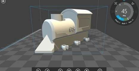 3D Builder, app Windows 8/8.1 para crear objetos 3D para impresión | E-Learning, M-Learning | Scoop.it