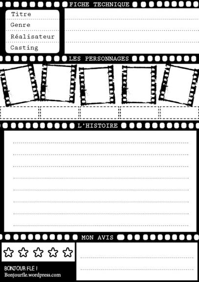 Template - Présenter un film | Tout pour le WEB2.0 | Scoop.it