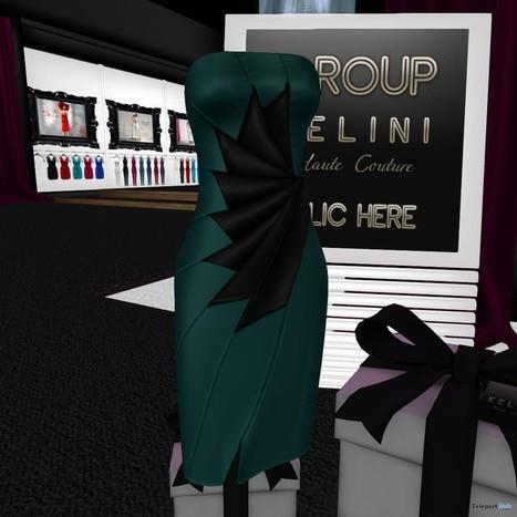 Leaf Of Spring Dress Group Gift by KELINI | Teleport Hub - Second Life Freebies | Second Life Freebies | Scoop.it