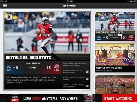 Best Free iPad App of the Week: ESPN College Football | Better teaching, more learning | Scoop.it