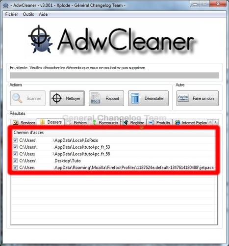 AdwCleaner, le meilleur utilitaire de nettoyage - Comment l'utiliser ? | Time to Learn | Scoop.it