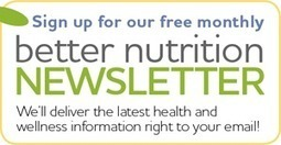 Better Nutrition Magazine :: Supplements, Nutrition, Recipes, Personal Care :: Food :: Eat Smart | Healthy Lifestyle Investigation | Scoop.it