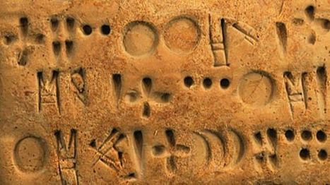 Breakthrough in world's oldest undeciphered writing | Sean Coughlan | BBC News | Digital Media Literacy + Cyber Arts + Performance Centers Connected to Fiber Networks | Scoop.it