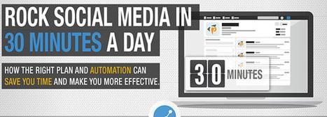 Batiendo récords: 30 minutos para el social media (infografía) | Social Media | Scoop.it