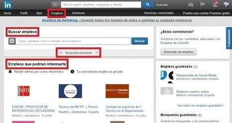 Guía de uso de Linkedin para tu búsqueda de empleo   OficinaEmpleo.com   redes sociales y marketing digital   Scoop.it