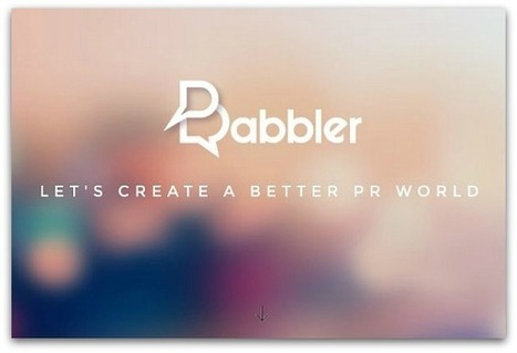 Babbler seeks to be the social network for media relations | Public Relations & Social Media Insight | Scoop.it
