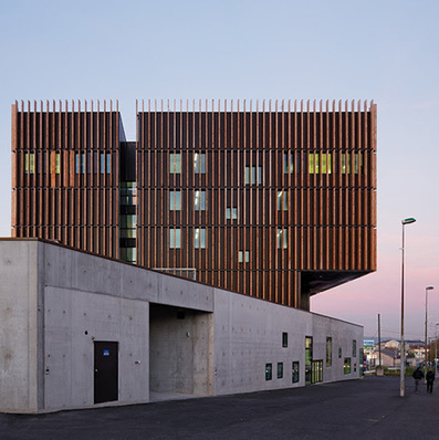 Moveable Timber Shutters Modulate Light at Mantois Technology Centre, near Paris | sustainable architecture | Scoop.it