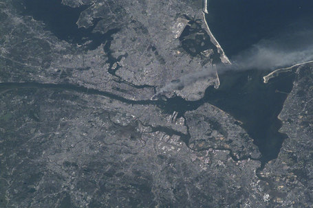 September 11 attacks from space | My Photo | Scoop.it