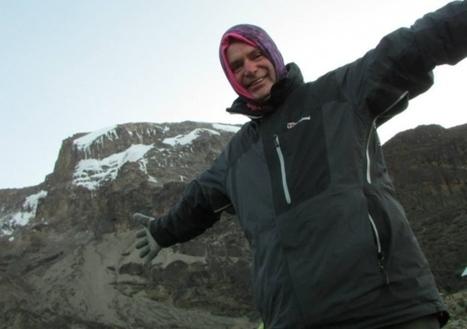 Fearless fundraiser Ryk is feeling top of the world! | Climbing Kilimanjaro | Scoop.it