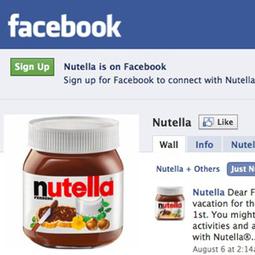 Nutella afirma que anunciarse en Facebook es mejor que hacerlo en televisión | marketing en redes sociales | Scoop.it