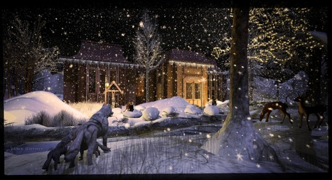 the snow is white, because of the love and happiness | Second Life Sawa's Style | Scoop.it