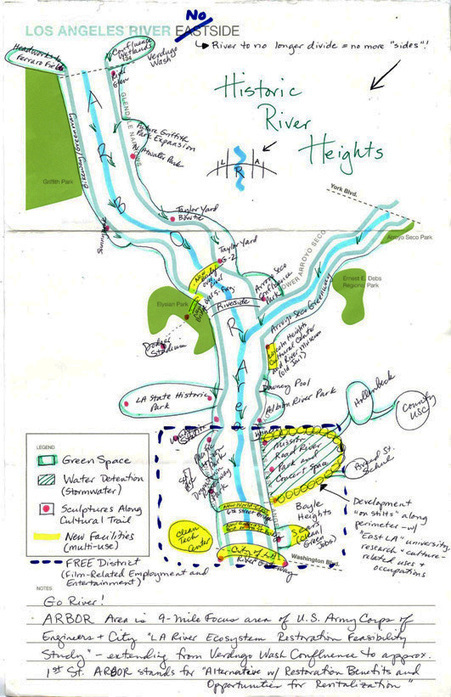 CoLab Radio » Blog Archive » Mental Mapping Arts and Culture Along the L.A. River | Human Geography | Scoop.it