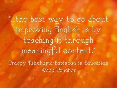 'Every Teacher Is A Language Teacher'   English Language Teaching & Learning   Scoop.it