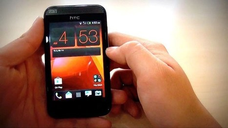 HTC Desire 200 Android Smartphone caught on camera before launch | Latest Mobile buzz | Scoop.it