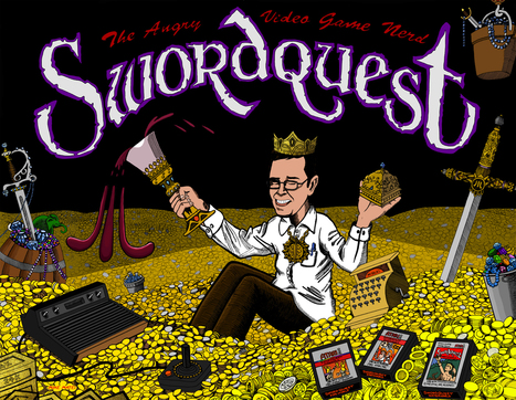 AVGN: Swordquest Atari 80`s transmedia experiment? | 3D animation transmedia | Scoop.it