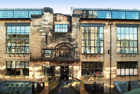 The Alice in Wonderland effect of Glasgow School of Art Mackintosh building | Art and Architecture | Scoop.it