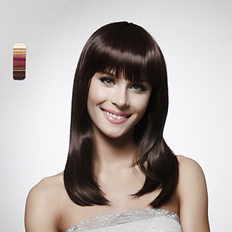 Capless Long Body Wavy Brownish 100% Human Hair Wig WigSuperDeal.com | African American Wigs | Scoop.it