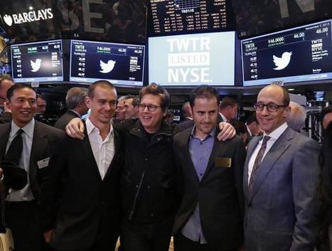 L'action Twitter flambe pour son introduction en Bourse | Marché TIC | Scoop.it
