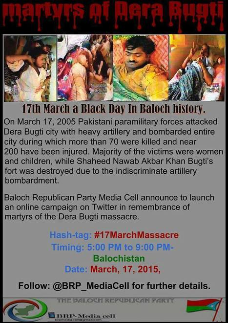 Balochistan:  17th of March demonstration | Human Rights and the Will to be free | Scoop.it