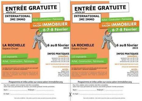 Imprimez votre Invitation pour le salon de La Rochelle | Real estate USA | Scoop.it