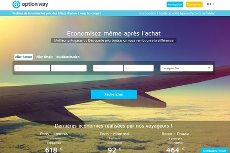 Option Way lance sa solution pour les professionnels du tourisme | Tourisme Tendances | Scoop.it