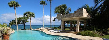 Gorgeous oceanfront villa in exclusive gated community - Cabarete | Dominican Republic Real Estate | Scoop.it