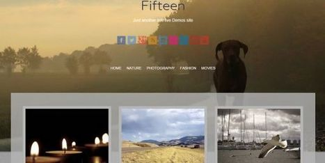 20 Best Free Photography WordPress Themes | Public Relations & Social Media Insight | Scoop.it