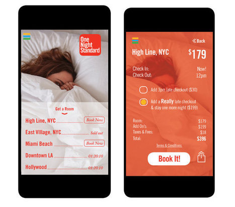 Standard Hotels Introduce App for Same-Day Stays | TRAVEL KEVELAIR | Scoop.it
