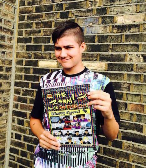 Meet London's Jewish Teenage Comic Genius, Famous Since Age 8 | Jewniverse | Learning is always creative | Scoop.it