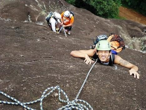 Jovem encontra na escalada a solução para uma deficiência rara | esportes | Scoop.it
