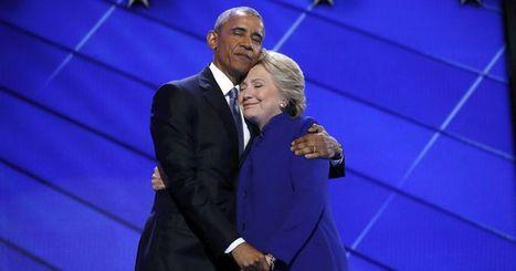 Obama and Clinton's Tender Hug Sparks Photoshop Battle | Communications Major | Scoop.it