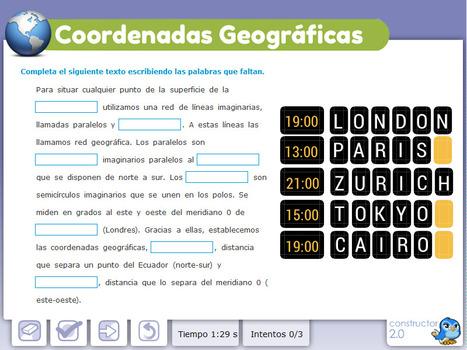 Coordenadas geográficas | Recursos Educativos para ESO, Geografía e Historia | Scoop.it