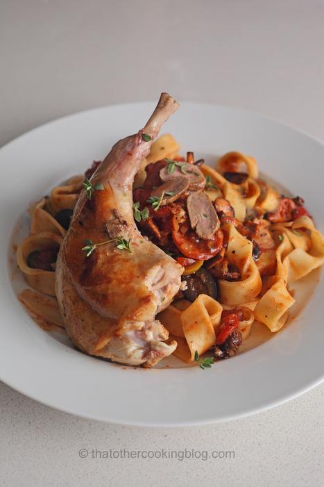 Rabbit Ragout with Fresh Tagliatelle Pasta | Le Marche and Food | Scoop.it